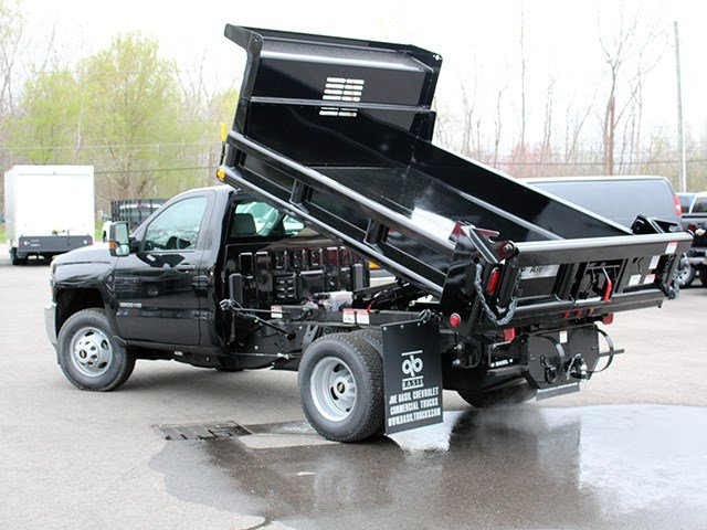 2017 Silverado 3500 Regular Cab DRW 4x4, Air-Flo Dump Body #17C131T - photo 13