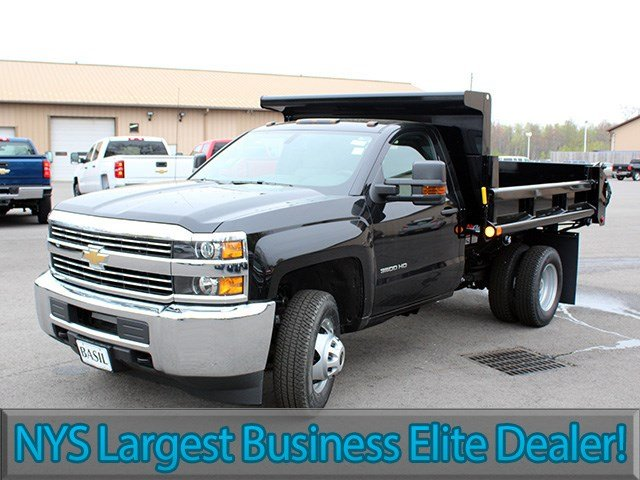 2017 Silverado 3500 Regular Cab DRW 4x4, Air-Flo Dump Body #17C131T - photo 3