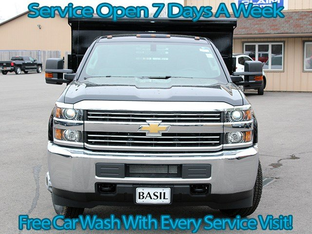 2017 Silverado 3500 Regular Cab DRW 4x4, Air-Flo Dump Body #17C131T - photo 4
