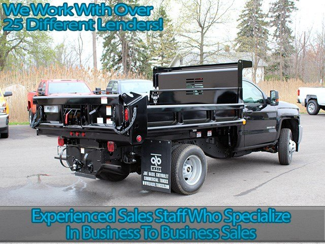 2017 Silverado 3500 Regular Cab DRW 4x4, Air-Flo Dump Body #17C131T - photo 2