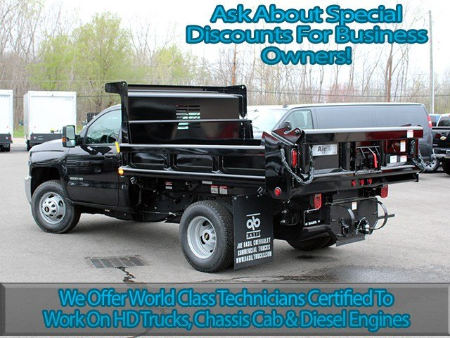 2017 Silverado 3500 Regular Cab DRW 4x4, Air-Flo Dump Body #17C131T - photo 6