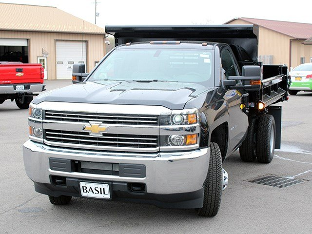 2017 Silverado 3500 Regular Cab DRW 4x4, Air-Flo Dump Body #17C131T - photo 7