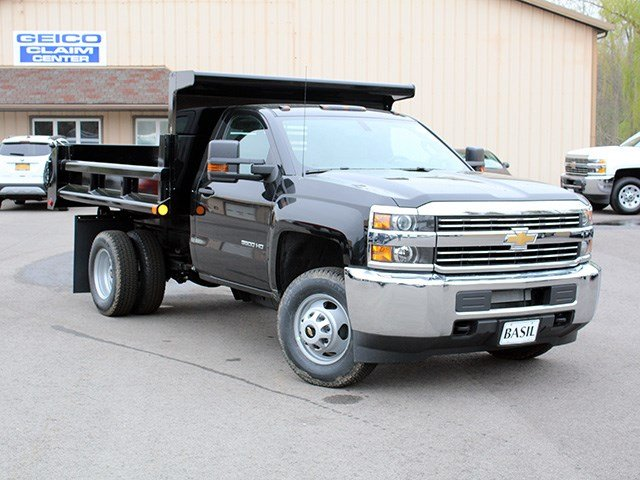2017 Silverado 3500 Regular Cab DRW 4x4, Air-Flo Dump Body #17C131T - photo 8