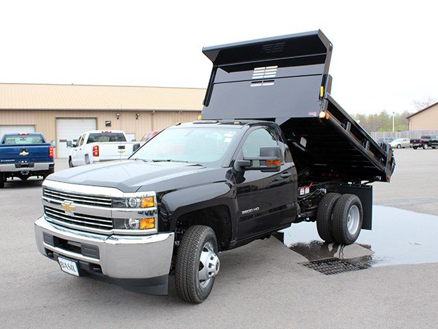 2017 Silverado 3500 Regular Cab DRW 4x4, Air-Flo Dump Body #17C131T - photo 9