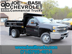 2017 Silverado 3500 Regular Cab DRW 4x4, Air-Flo Dump Body #17C131T - photo 1