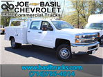2017 Silverado 3500 Crew Cab 4x4, Reading Service Body #17C151T - photo 1