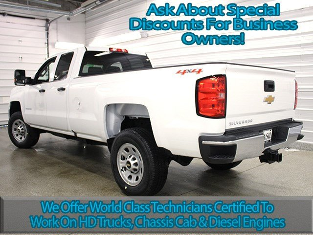 2017 Silverado 2500 Double Cab 4x4, Pickup #17C173T - photo 6