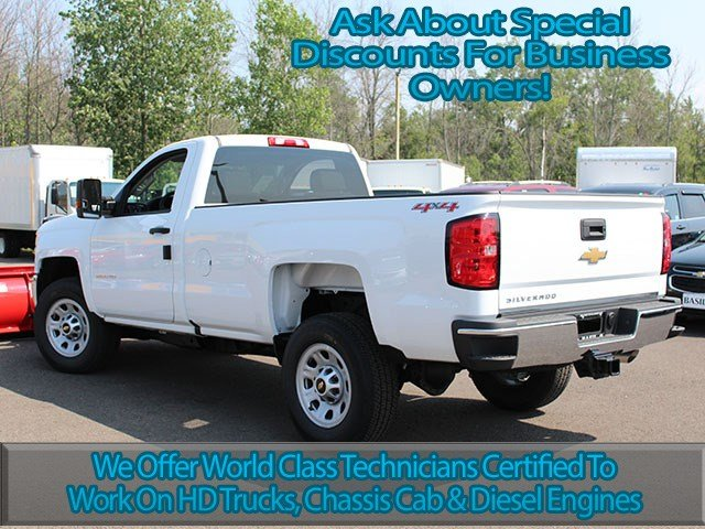 2017 Silverado 2500 Regular Cab 4x4, Chevrolet Pickup #17C182T - photo 8