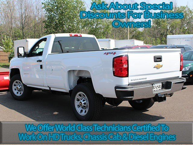 2017 Silverado 3500 Regular Cab 4x4, Chevrolet Pickup #17C183T - photo 10
