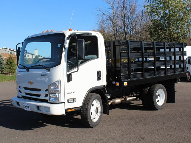 2017 LCF 4500 Regular Cab, Knapheide Value-Master X Stake Bed #17C188T - photo 4