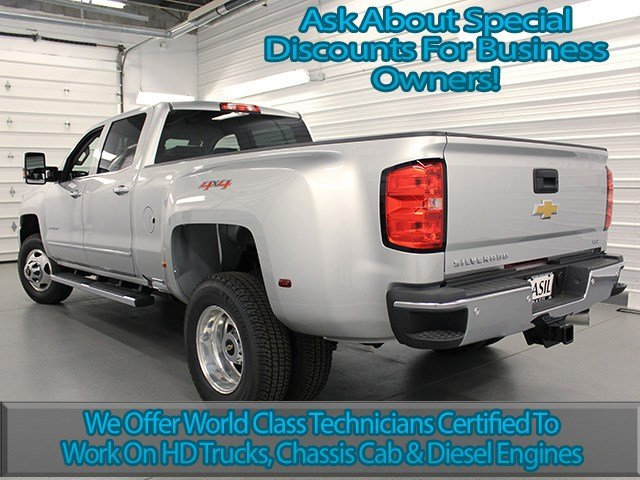2017 Silverado 3500 Crew Cab 4x4, Pickup #17C197T - photo 6