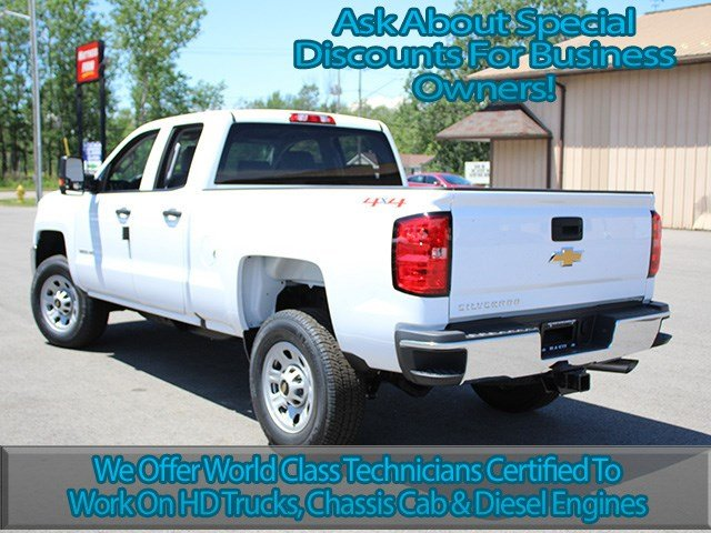 2017 Silverado 2500 Double Cab 4x4, Pickup #17C200T - photo 6