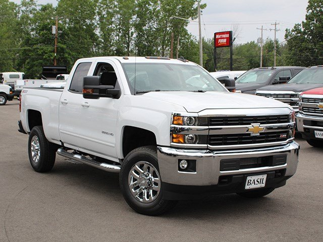2017 Silverado 2500 Double Cab 4x4, Pickup #17C208T - photo 8