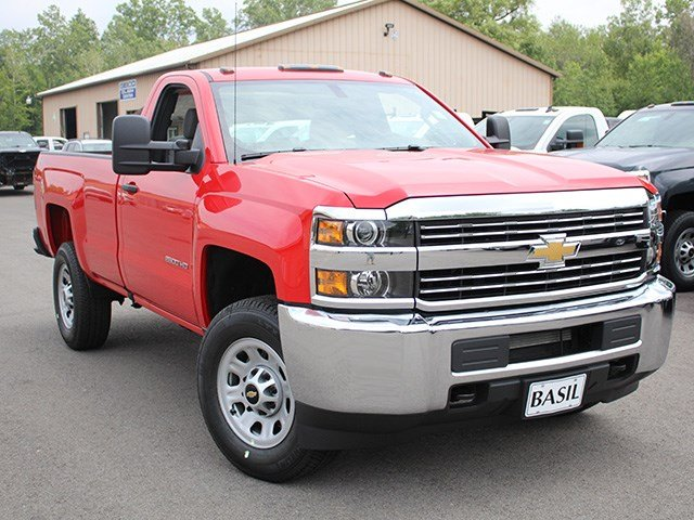 2017 Silverado 2500 Regular Cab 4x4, Pickup #17C215T - photo 8