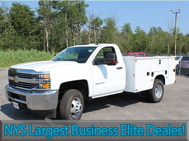2017 Silverado 3500 Regular Cab, Knapheide Service Body #17C224T - photo 3