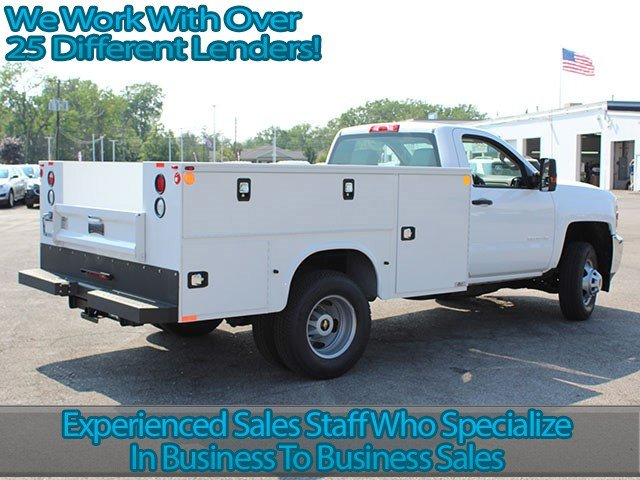 2017 Silverado 3500 Regular Cab, Knapheide Service Body #17C224T - photo 2