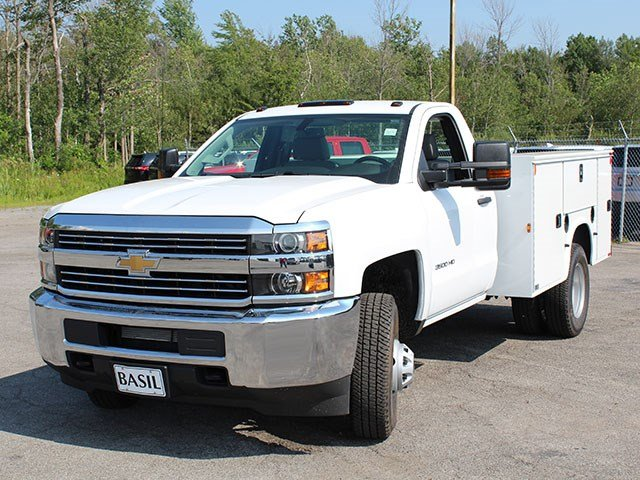 2017 Silverado 3500 Regular Cab DRW, Knapheide Service Body #17C224T - photo 7