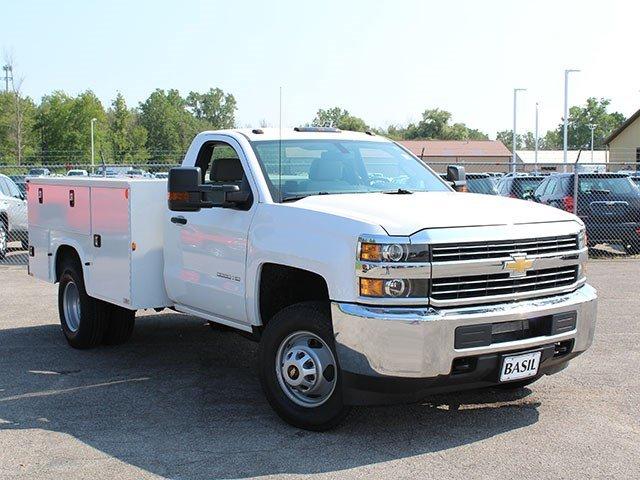 2017 Silverado 3500 Regular Cab DRW, Knapheide Service Body #17C224T - photo 8