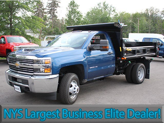2017 Silverado 3500 Regular Cab 4x4, Air-Flo Dump Body #17C229TD - photo 3