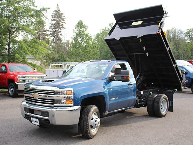 2017 Silverado 3500 Regular Cab 4x4, Air-Flo Dump Body #17C229TD - photo 9