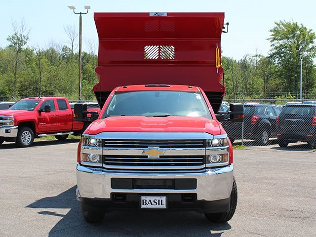2017 Silverado 3500 Regular Cab DRW 4x4, Rugby Dump Body #17C230T - photo 10