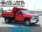 2017 Silverado 3500 Regular Cab DRW 4x4, Rugby Dump Body #17C230T - photo 1