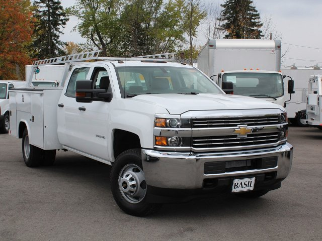 2017 Silverado 3500 Crew Cab 4x4 Service Body #17C256T - photo 14