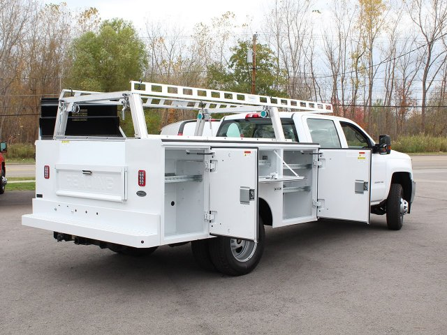 2017 Silverado 3500 Crew Cab 4x4 Service Body #17C256T - photo 19
