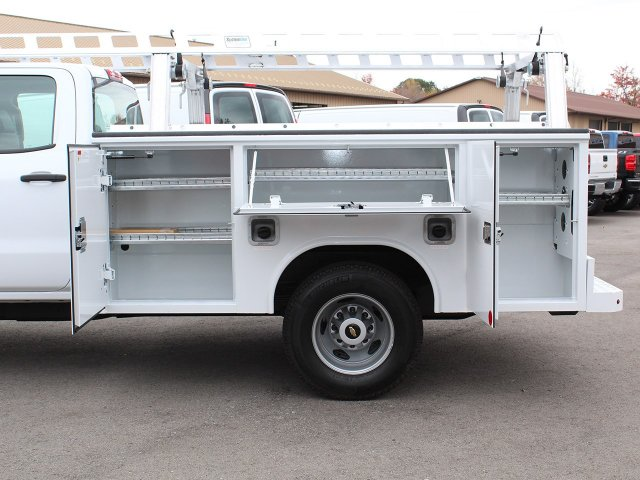 2017 Silverado 3500 Crew Cab 4x4 Service Body #17C256T - photo 8