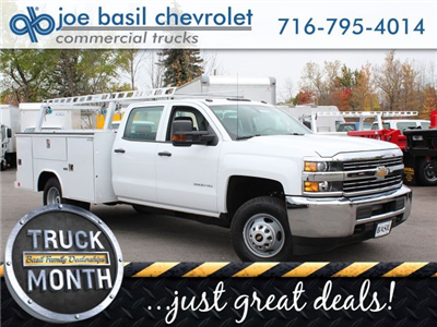 2017 Silverado 3500 Crew Cab 4x4 Service Body #17C256T - photo 1