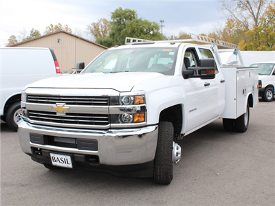 2017 Silverado 3500 Crew Cab 4x4 Service Body #17C256T - photo 13