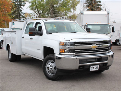 2017 Silverado 3500 Crew Cab 4x4 Service Body #17C256T - photo 15