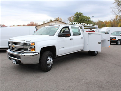 2017 Silverado 3500 Crew Cab 4x4 Service Body #17C256T - photo 17