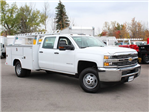 2017 Silverado 3500 Crew Cab 4x4 Service Body #17C256T - photo 3