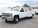 2017 Silverado 3500 Crew Cab 4x4 Service Body #17C256T - photo 4