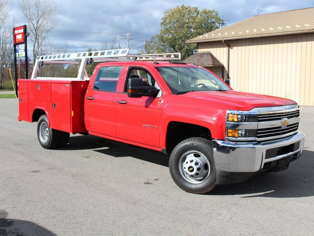 2017 Silverado 3500 Crew Cab 4x4 Service Body #17C257T - photo 3