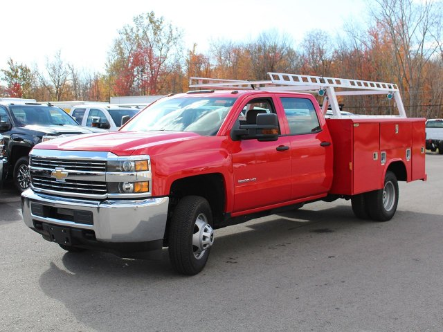 2017 Silverado 3500 Crew Cab 4x4 Service Body #17C257T - photo 4