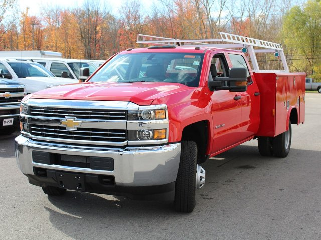 2017 Silverado 3500 Crew Cab 4x4 Service Body #17C257T - photo 8