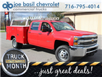 2017 Silverado 3500 Crew Cab 4x4 Service Body #17C257T - photo 1
