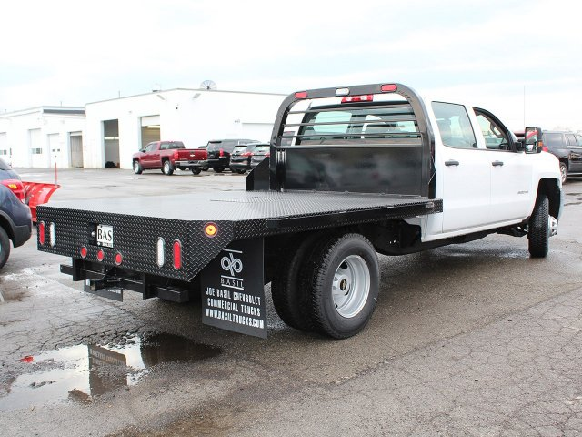 2017 Silverado 3500 Crew Cab DRW 4x4,  Reading Platform Body #17C259T - photo 2