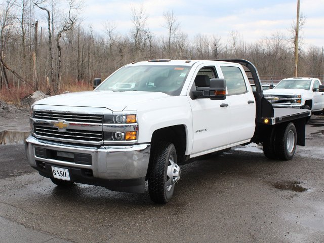 2017 Silverado 3500 Crew Cab DRW 4x4,  Reading Platform Body #17C259T - photo 23