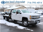 2017 Silverado 3500 Crew Cab DRW 4x4, Reading Redi-Dek Platform Body #17C259T - photo 1