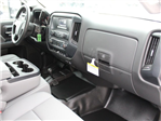2017 Silverado 3500 Crew Cab DRW 4x4, Reading Redi-Dek Platform Body #17C259T - photo 27
