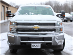 2017 Silverado 3500 Crew Cab DRW 4x4, Reading Redi-Dek Platform Body #17C259T - photo 5
