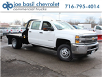 2017 Silverado 3500 Crew Cab DRW 4x4,  Reading Platform Body #17C259T - photo 1