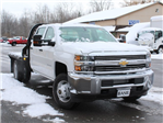 2017 Silverado 3500 Crew Cab DRW 4x4, Reading Redi-Dek Platform Body #17C259T - photo 11