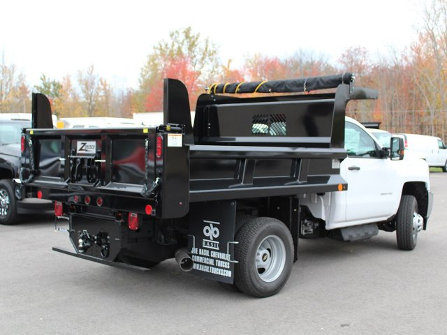 2017 Silverado 3500 Regular Cab DRW 4x4, Rugby Dump Body #17C274T - photo 2