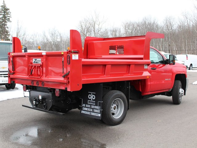 2017 Silverado 3500 Regular Cab DRW 4x4, Rugby Z-Spec Dump Body #17C306T - photo 2