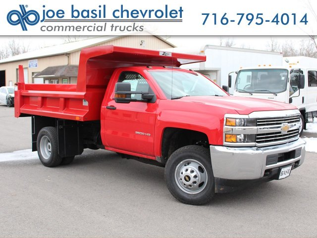 2017 Silverado 3500 Regular Cab DRW 4x4, Rugby Z-Spec Dump Body #17C306T - photo 1