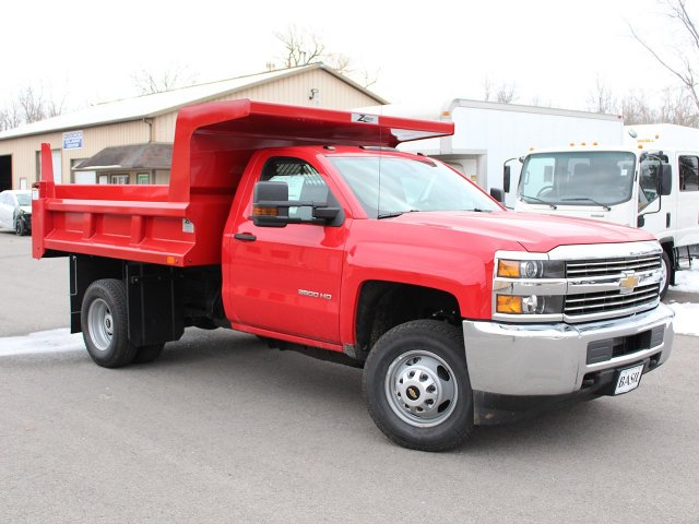2017 Silverado 3500 Regular Cab DRW 4x4, Rugby Z-Spec Dump Body #17C306T - photo 23